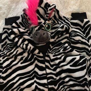 Zebra Justice Hoodie